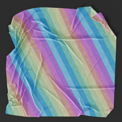 Rainbow Picnic Blanket