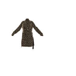 NEW - Animal Print TrenchCoat - For the Fur affect