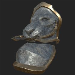 Lion Shoulder Plate