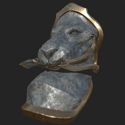 Lion Shoulder Plate