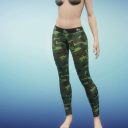 Leggings Camo gamma
