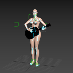 Guitar Animation (female)