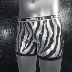 Boxer Briefs Zebra silver