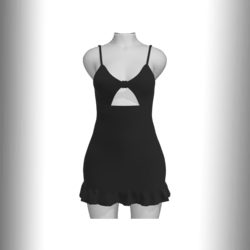 Summer Dream Dress (black)