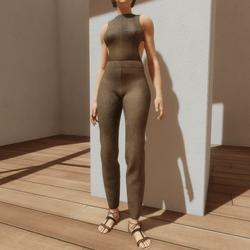 TKA-Jumpsuit old leather