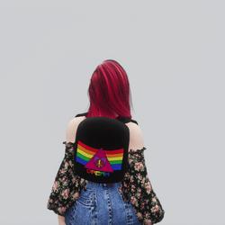 Kawaii Backpack (Rainbow)