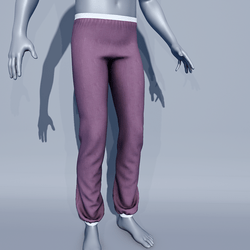 Men Sport Pants - Purple Grapeade