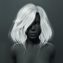 Kelsey Hair - White