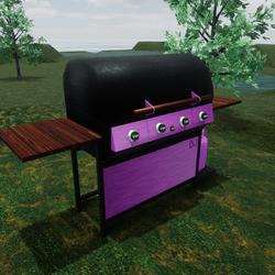 DJ's Pink BBQ Grill