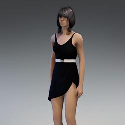 Dress Lara 2.0 black free gift
