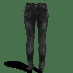 Female Low Waist Slim Jeans