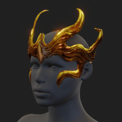 Fantasy Crown - Gold