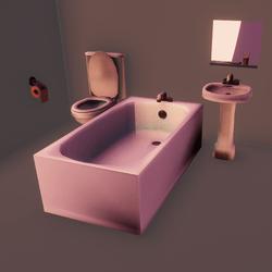 Anime bathroom