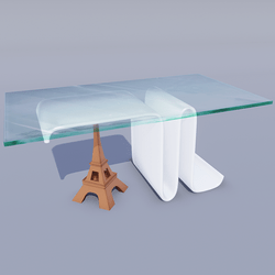 6 Paris Modern Tables