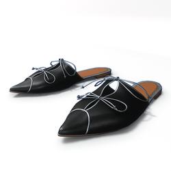 AV 2.0  Rome - flat mules in black