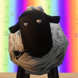 Welsh Mountain Sheep NPC + Chew and Tail Wag Animation