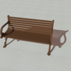 Furniture - Outdoor bench