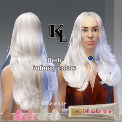 beth-infinity colors-base white