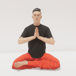 meditation 7 b balance male