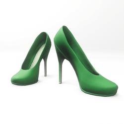 "High heel pumps for ""Alina Daisy highheels"" and ""Nicci"" avatar - green"