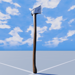 Lumberjack Axe - updated