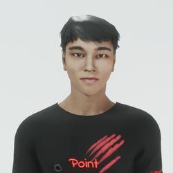 Cho - Asian Male Avatar