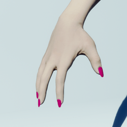 Female Pink Nails for the FullSpectrum Avatar 2.0