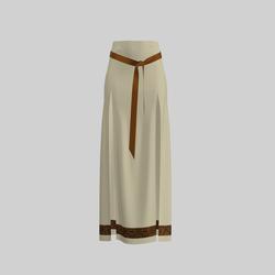 Skirt Briana Beige & Gold 2.0