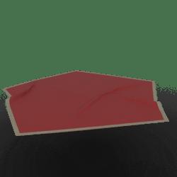 Geo Rug Red