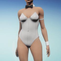 Sexy Bunny Suit - Snow