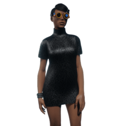 Tube Dress Black