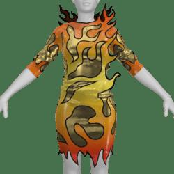 Katy Perry Fireworks Dress Replica