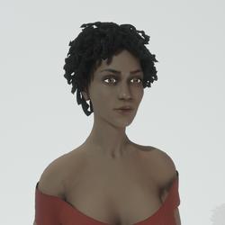Aretha Female Avatar