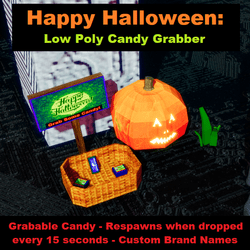 Happy Halloween - Festival Candy Grabber