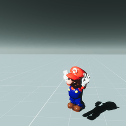Dancing Mario - Animated Character