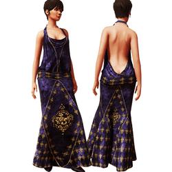 1920's Gown Purple