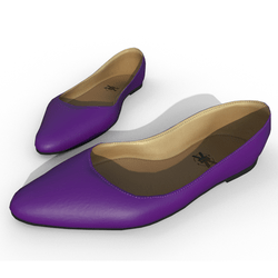 Minaty - Woman Shoes - Purple