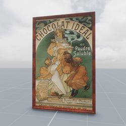 Chocolat Ideal Alphonse Mucha 1897
