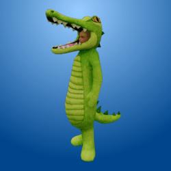 Croc Costume LightGreen (Female)