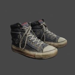 Loki's Old Sneakers 2.0 - Blue