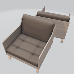 Chronicle Lounge Chair Brown