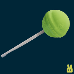 lolly - hand green