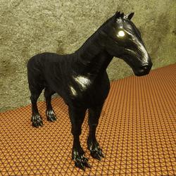 IRON HORSE ART SCULPTURE(Integrated and unique design)