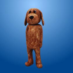 Light Brown Dog Costume