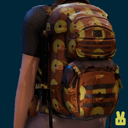 duck backpack - light brown