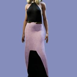 Zoie Pink Fur