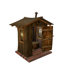 Scripted Outhouse