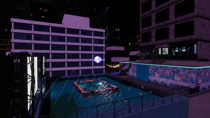 Firelight Roof Top Swim Club