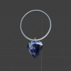 Heart Of The Ice Necklace