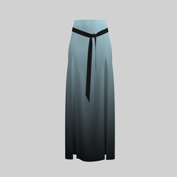 Skirt Briana Gradient Lil Blue 2.0